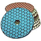 Ø125mm | Diamantschleifpads 1 Stück, Polierscheiben