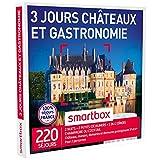 SMARTBOX - Coffret Cadeau - CHÂTEAUX ET GASTRONOMIE - 3 JOURS - 220 séjours : châteaux et manoirs jusqu'à 4* dont 26 du guide MICHELIN