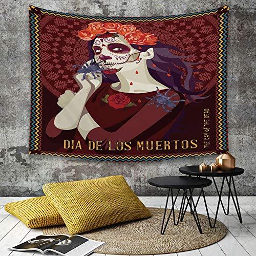 Dia De Los Muertos Dekor - Tapestry, Wall Hanging, Tag der Toten