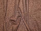Tweed Wolle-Mischgewebe passend Kleid Stoff Kastanie–Meterware