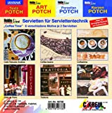 Hobby Line 49738 - Serviettenmischpackung Coffee Time 6 Motive 2 Stück