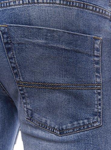 oodji Ultra Uomo Jeans Basic Slim Blu (7500W)