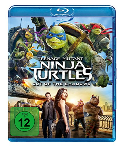Bild von Teenage Mutant Ninja Turtles - Out of the Shadows [Blu-ray]