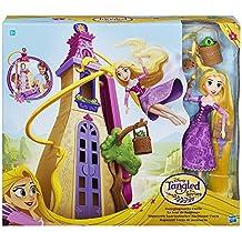 Enredados - Playset Rapunzel Torre de Aventuras de Disney (Hasbro C1753EU4)