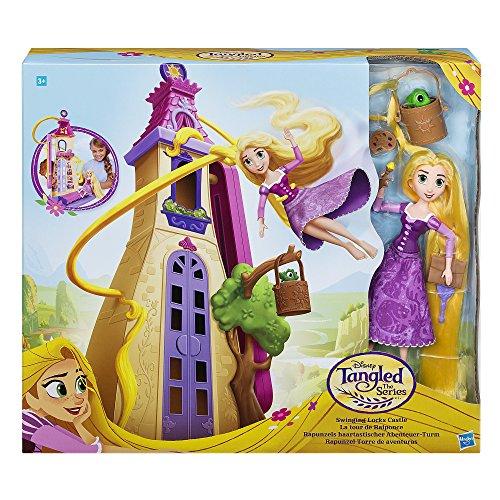 Hasbro Disney Rapunzel – Die Serie C1753EU4 Rapunzels Haartastischer Abenteuer-Turm, Spielset
