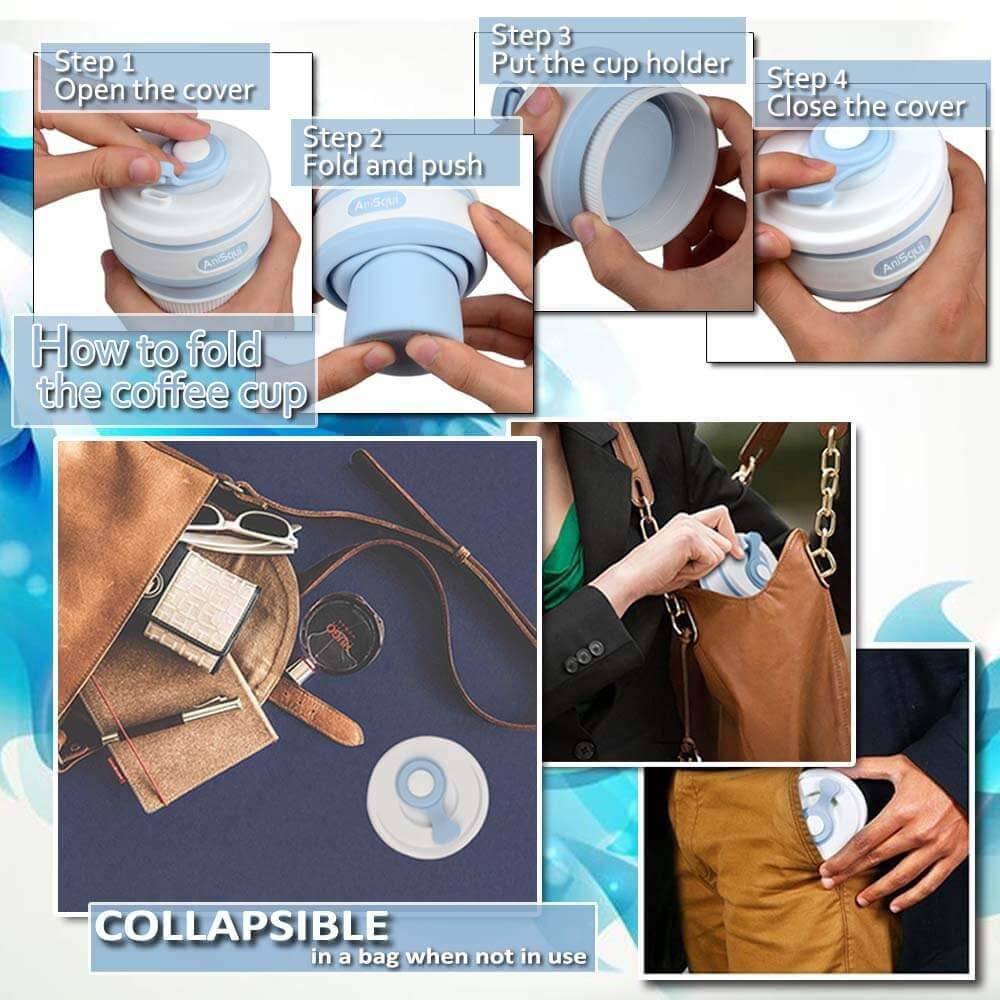 Collapsible-Coffee-Cup-12oz-350ml-Leak-Proof-BPA-Free-Reusable-Coffee-Cup