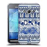 Head Case Designs Keramiktopf Chinesische Vase Muster Soft Gel Hülle für Samsung Galaxy Xcover 3
