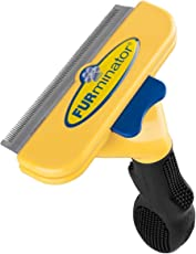 FURminator - Spazzola raccogli pelo per Cani di taglia grande a pelo corto (inferiore ai 5cm) - riduce spargimento peli del 90%