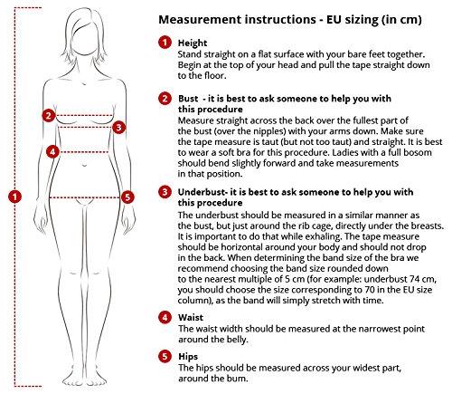 Dn-Nightwear PM.9000 Subtil Pyjama D'Allaitement Manches Courtes– Fabriqué En UE Rose