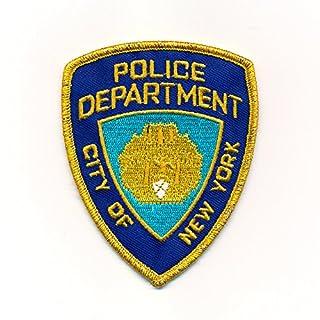 60 x 75 mm Police Department New York NYPD Polizei Aufbügler Aufnäher 0973 B
