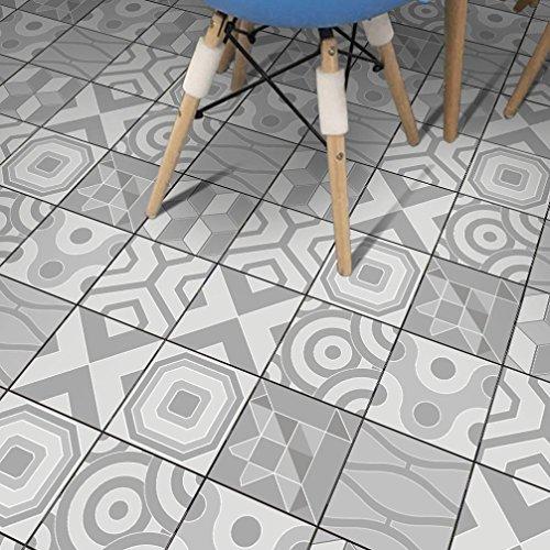 STRIR Adhesivo azulejos 500cm x 20 cm - Adhesivo decorativo