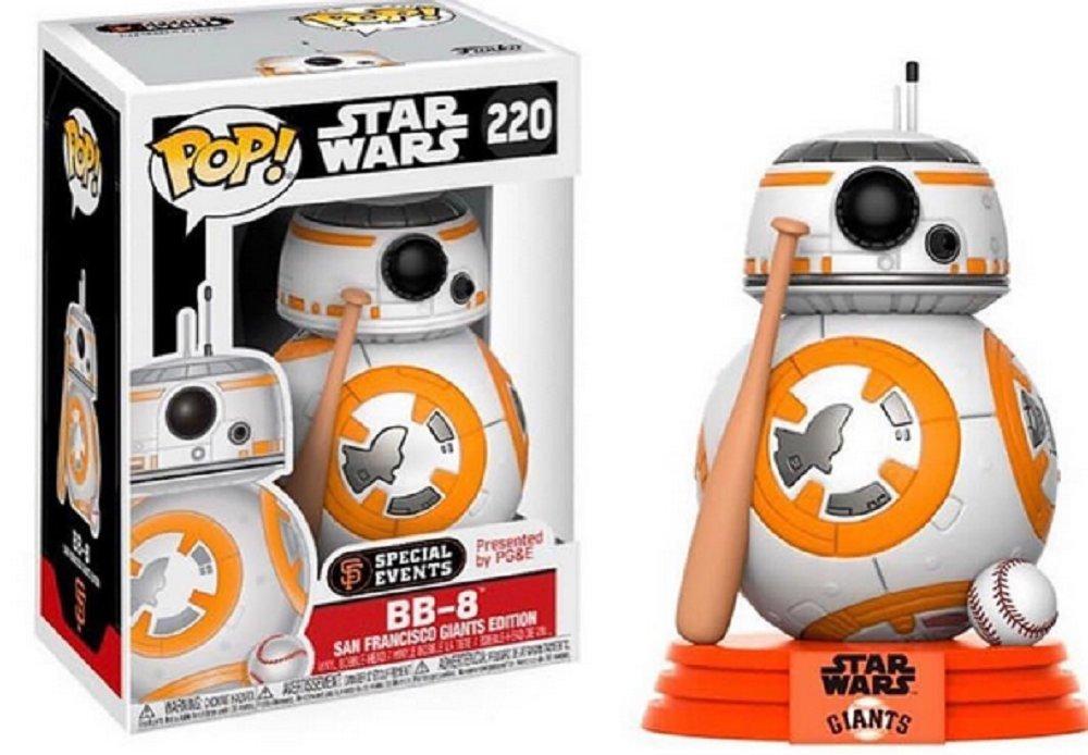 Funko Pop BB-8 baseball San Francisco Giants (Star Wars 220) Funko Pop Star Wars