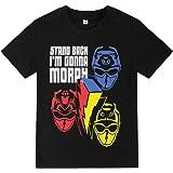 Power Ranger Stand Back I'm Going to Morph - Camiseta de algodón