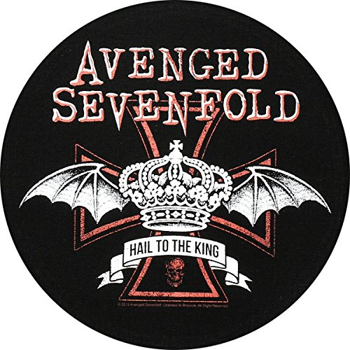 Toppa Avenged Sevenfold, Red Crown Back Patch Toppa