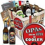 Opas sind wie Väter nur cooler | Bier Geschenk Box | Deutsche Biersorten