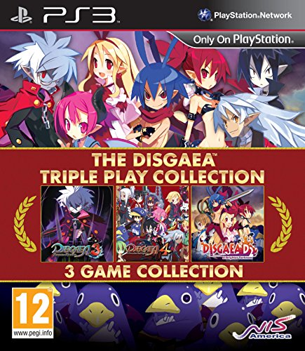 NIS The Disgaea Triple Play Collection