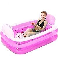 Aufblasbares Bad, die Wanne ist Gefaltet, Verdickte Erwachsene Wanne Badewanne Badewanne Barrel Kunststoff.