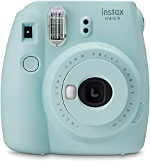 Fujifilm Instax Mini 9 Kamera Eis Blau