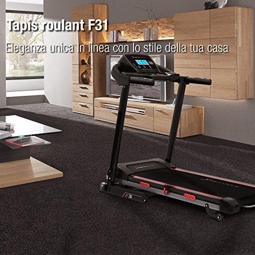Zoom IMG-5 sportstech f31 tapis roulant elettrico