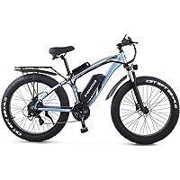 GUNAI Elektrofahrrad 1000W 26 Zoll Beach Cruiser Fat Bike mit 48V 17AH Lithiumbatterie