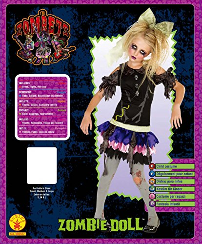Imagen de zombie doll  halloween  niños disfraz  pequeño  117 cm alternativa