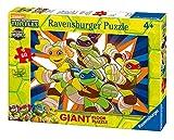 Ravensburger Ninja Turtles–Die jungen Helden, Puzzle 60Teile (54718)