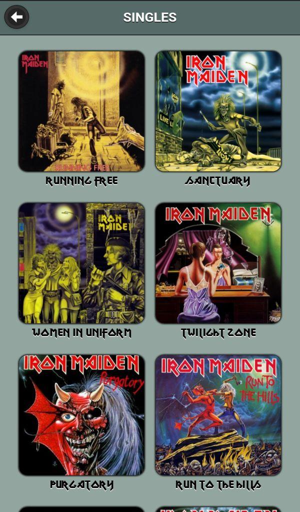 Singles discography maiden iron Iron Maiden