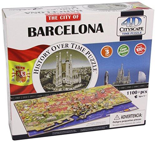 Preisvergleich Produktbild 4D Cityscape 40050 - Barcelona Puzzle