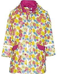 Playshoes Mädchen Regenmantel Regenjacke Blumendruck