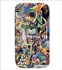 PrintDhaba Graffiti D-5569 Back Case Cover for MOTOROLA MOTO E2 (Multi-Coloured)