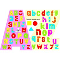 Kinder Creative Kcl 18 Learning Alphabet, Multi Colour