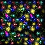100 DEL lumières solaires multicolores en forme de...
