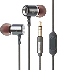 Sencer S320 Extra Bass Metal in-Ear Earphones with Microphone (Grey)