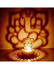 eCraftIndia Lord Ganesha Tea Light Holder