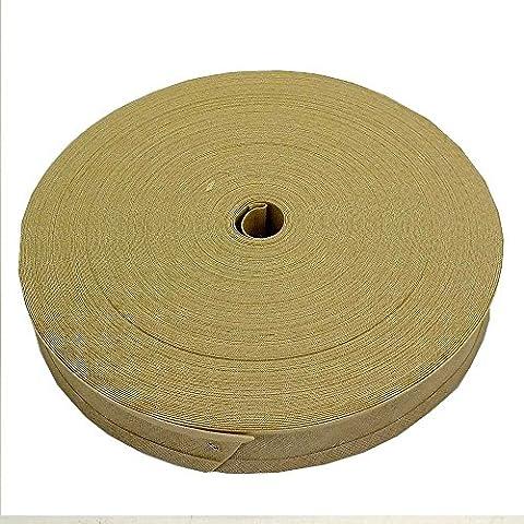 16mm sbieco nastro trim 100% cotone–Avena–5m