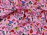 Ärzte und Krankenschwestern Polycotton-Stoff Kleid Print