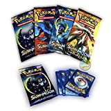 #10: Pokemon Sun and Moon Trading Cards Game (Non Licensed) (Pack of 5)