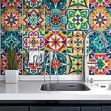 10 Pieces 20x20 cm - PS00187 Adhesivo Decorativo para Azulejos para baño y Cocina Stickers Azulejos - Made in Italy - Stickers Design