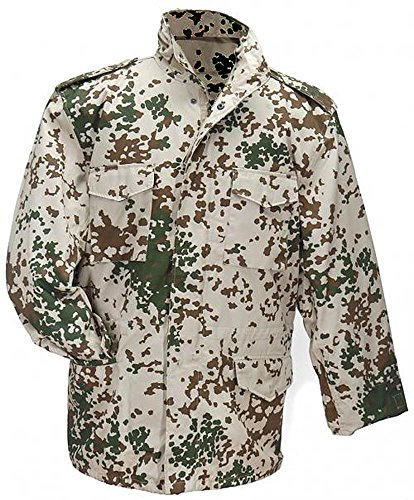 Shirt Kostüm Tales - US Feldjacke M65 Feldparka mit Futter und Kaputze Wind- und Nässeschutz Herbstjacke in verschiedenen Farben S-5XL Übergröße 4XL,Tropentarn