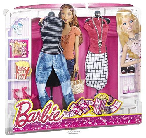 Cfy09 Barbie Set Di 2 Vestiti Per Con Bambolamattel La Confezione jUzSMVqGpL