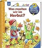 Ravensburger Junior Buch 2-4 Jahre - Was machen wir im Herbst? / Wieso? Weshalb? Warum? - Pappbilderbuch, Bilderbuch
