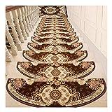 LVAB Stufenmatten - Treppenmatten Teppich Treppen Verdicken Selbstklebend Treppe Treter Pads Matten Rutschfest B (Farbe : F, größe : 80cm)