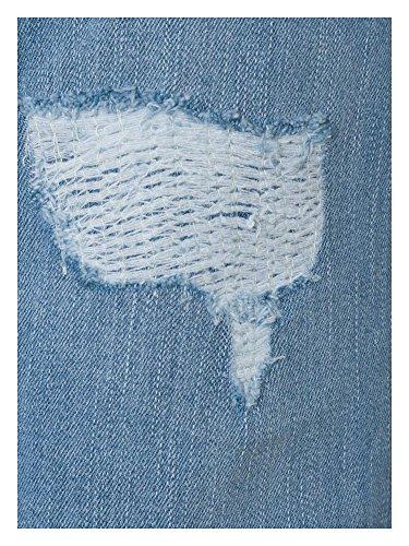 sheego Denim Donne Jeans Bootcut/Flare taglie comode nuova collezione Azzurro