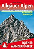 Allgäuer Alpen: Höhenwege und Klettersteige. Mit Heilbronner Weg, Mindelheimer und Hindelanger Klettersteig (Rother Wanderführer)
