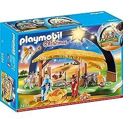 Playmobil 9494de juguete luz arco de Belén, unisex infantil