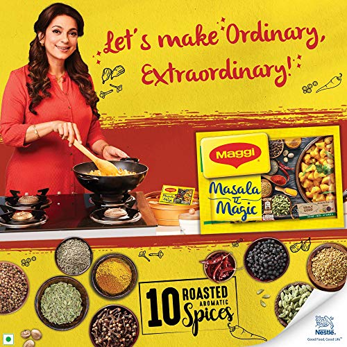 MAGGI Masala- ae -Magic Seasoning, Vegetable Masala, 72g Share Bag (12 Sachets)