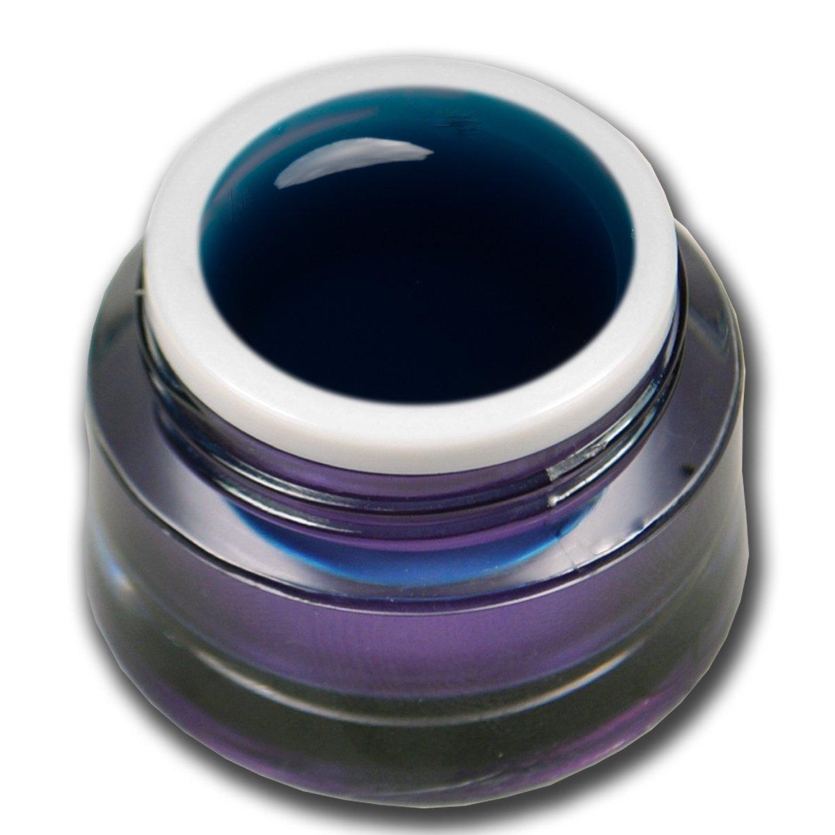 Premium Gel vetro colorato turchese 5ml Gel UV Unghie Nail Art