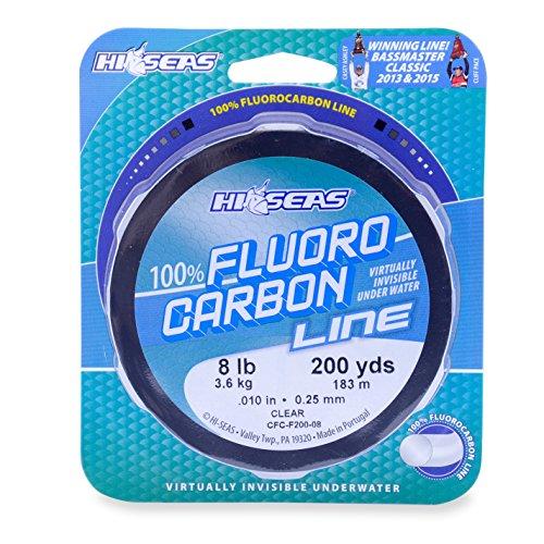 Hi-Saw 100% Fluorocarbon Schnur, farblos, 1000 Yard, 12 Pound Test -