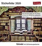 Die Welt der Bücher Kalender 2020: Kalender mit 53 Literaturpostkarten