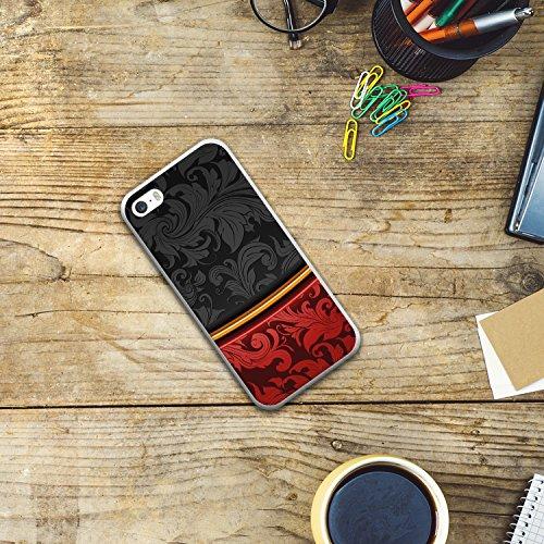 iPhone SE iPhone 5 5S Hülle, WoowCase Handyhülle Silikon für [ iPhone SE iPhone 5 5S ] Holzwand Handytasche Handy Cover Case Schutzhülle Flexible TPU - Transparent Housse Gel iPhone SE iPhone 5 5S Transparent D0575